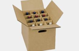 Thùng carton đựng chai rượu