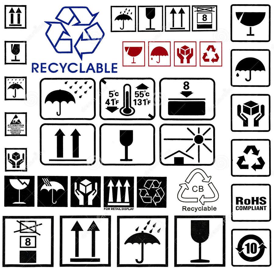 Ý nghĩa các ký hiệu ghi trên thùng carton
